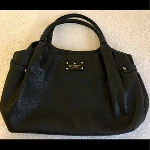 Kate Spade Large Pebbled Leather Shoulder Purse
